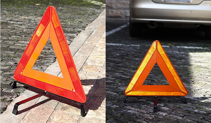 Как сделать знак аварийной остановки